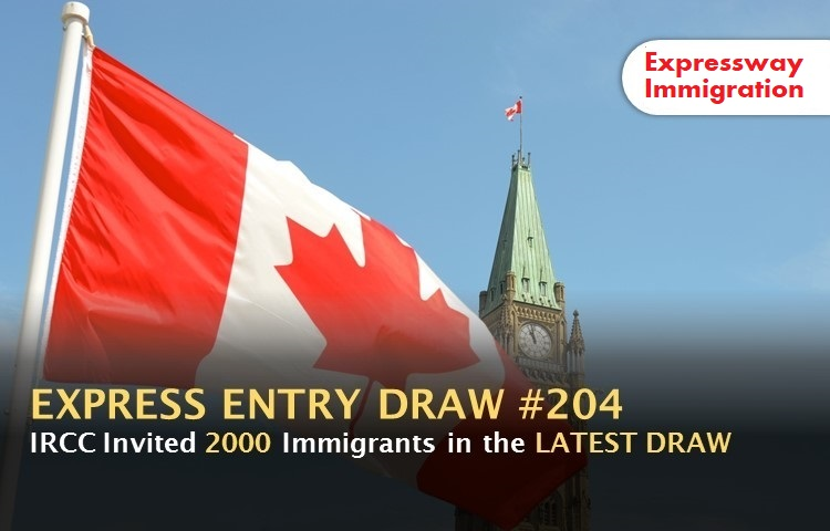 express entry draw 204
